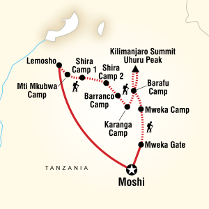 Lemosho Route