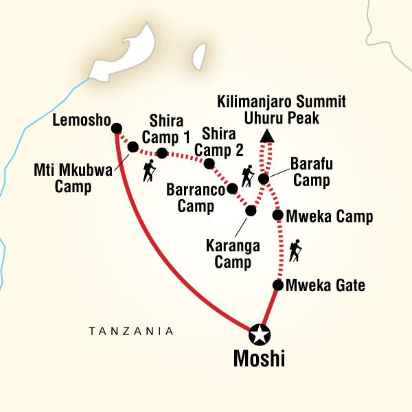 Lemosho Route