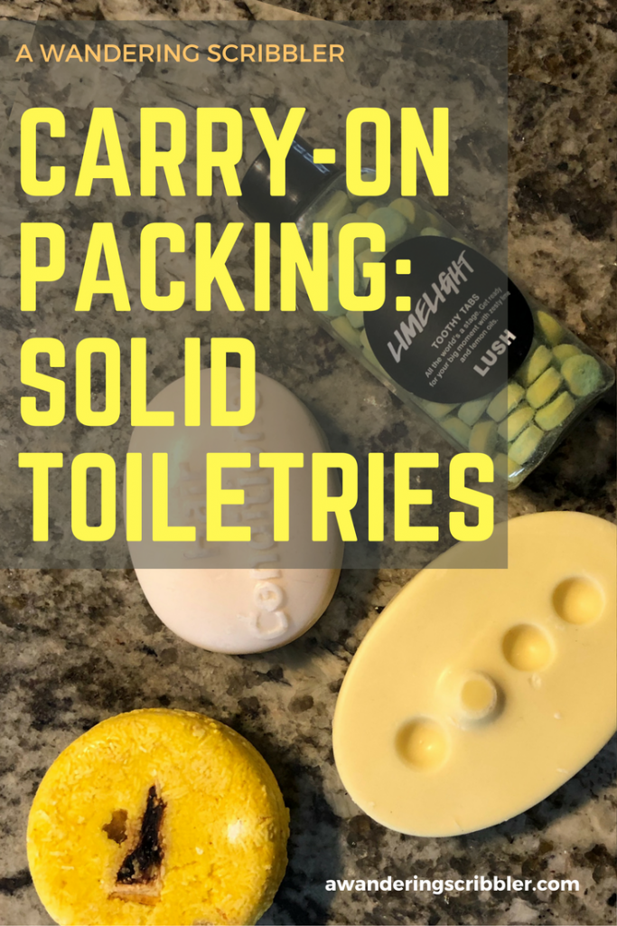 Carry-On Packing Help: Solid Toiletries
