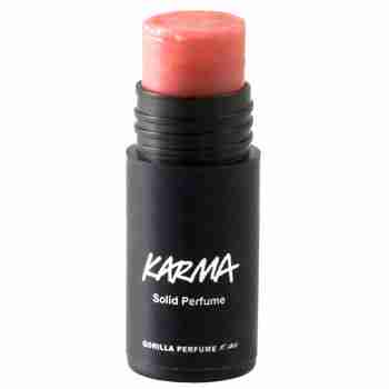 LUSH solid perfume