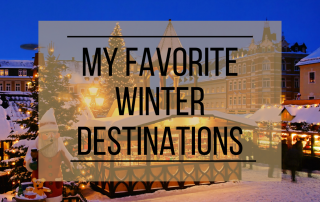 Favorite Winter Destinations