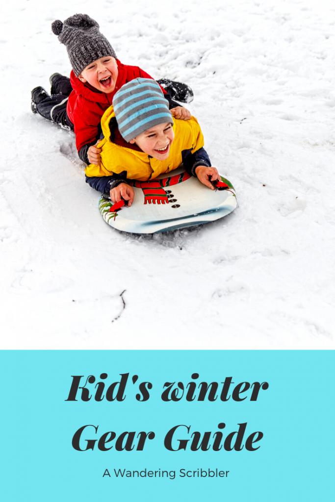 Kid's winter gear guide