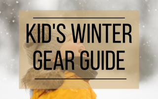 Kid's winter gear guide