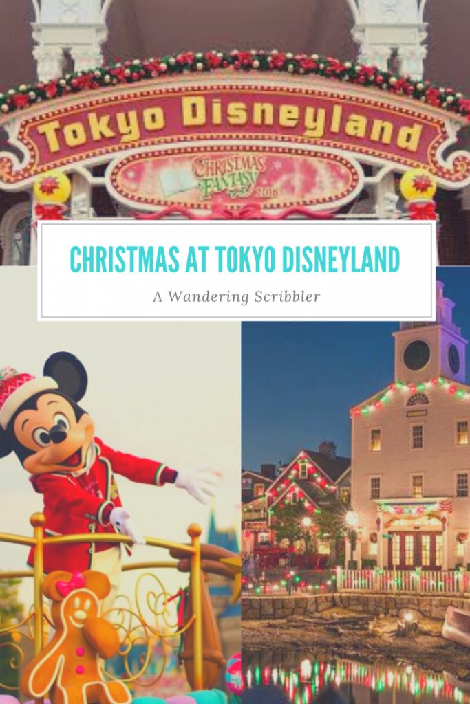 Christmas at Tokyo Disney