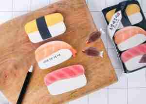 Sushi Memopad